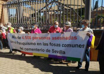 Podemos reclama a la Junta de Andalucía que cumpla la Ley de Memoria Democrática