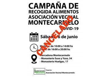 El concejal de Fuencarral-El Pardo en Madrid deniega una recogida de alimentos organizada por la Asociación Vecinal de Montecarmelo