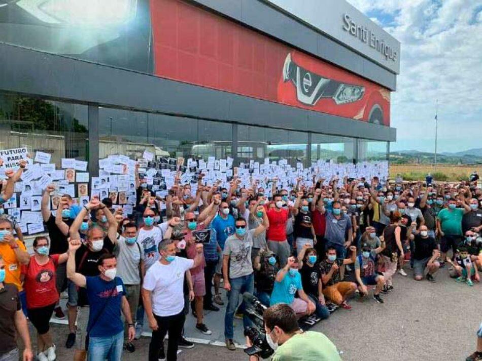 Sindicatos publican un manifiesto en apoyo a los trabajadores de Nissan y exigiendo la nacionalización de las plantas: «¡No estáis solos!»