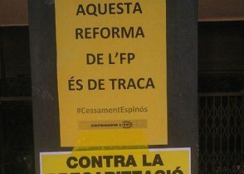 Col.lectiu de docents de formació professional Defensem l'FP: «Aquesta reforma de l'FP és de traca»