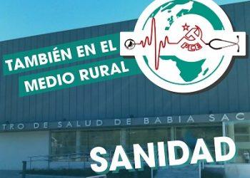 El PCE de El Bierzo anima a participar en la manifestación virtual para defender la sanidad rural