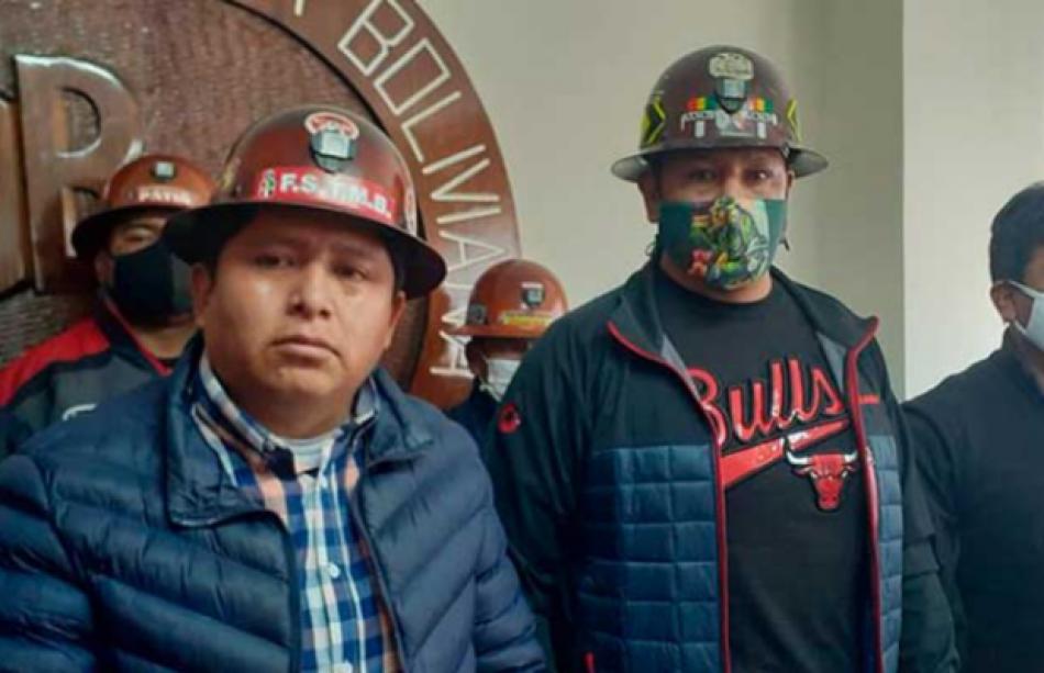 Bolivia. Mineros a Áñez: 'Apruebas' la ley de elecciones o 'te vas con una convulsión social'