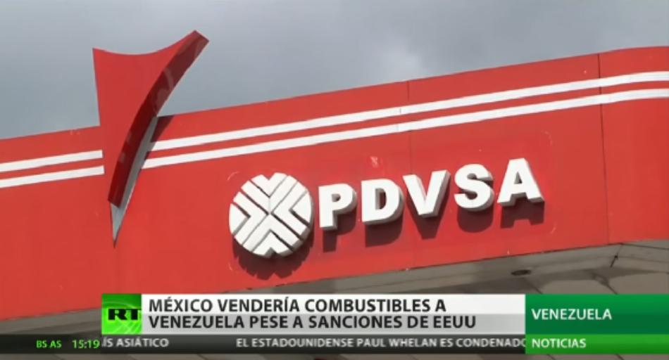 López Obrador estaría dispuesto a vender gasolina a Venezuela pese a las sanciones de EE.UU.