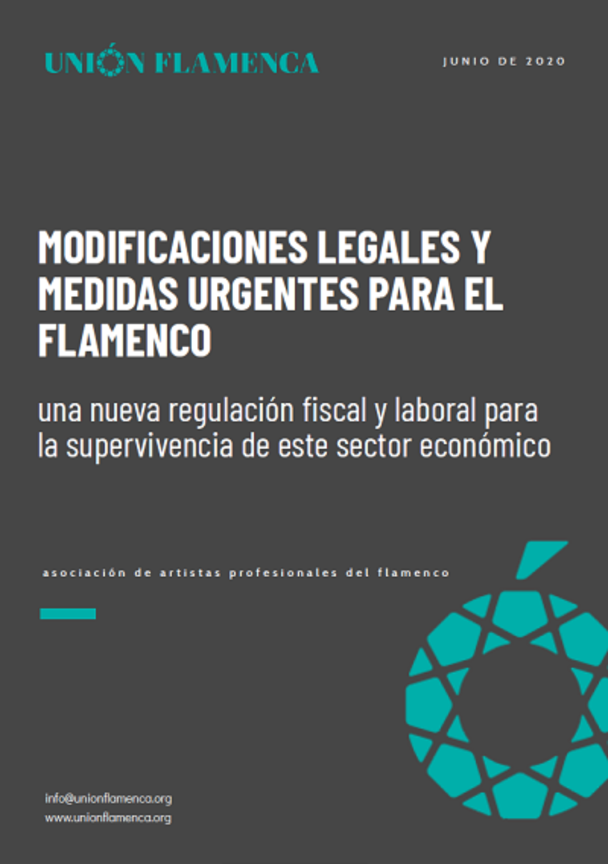 Unión Flamenca presenta cinco bloques de medidas legales para la supervivencia del famenco