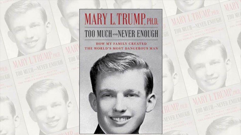 Juez bloquea libro de sobrina de Trump, 'el más peligroso del mundo'