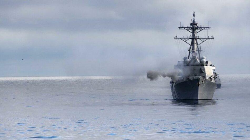 """Caracas ve """"inexcusable acto provocativo"""" ingreso de buque de EEUU"""