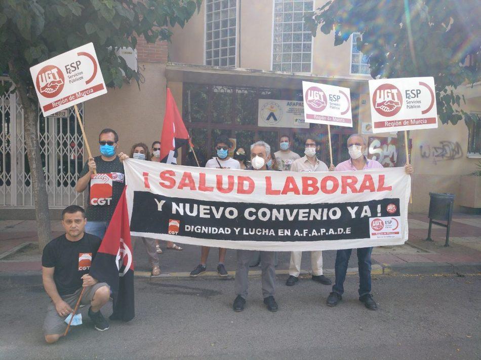 CGT y UGT convocan huelga en la residencia de AFAPADE