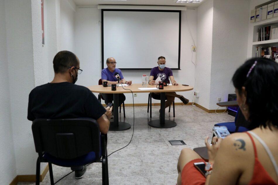 """Organizaciones sindicales y sociales presentan la plataforma """"Contra las Desigualdades Sociales. Por la Justicia Social y Ambiental"""""""