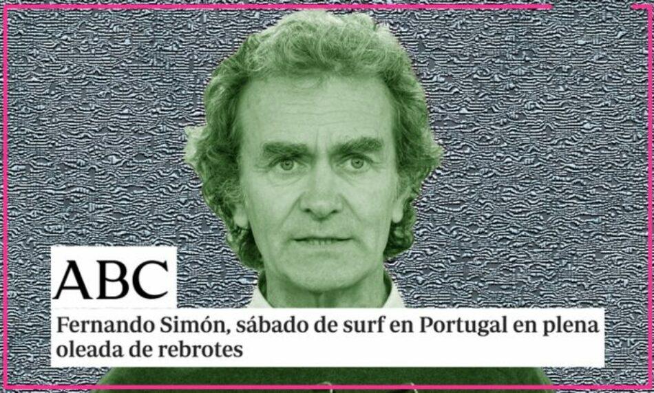 ABC carga contra Fernando Simón por pasar un fin de semana con su familia en la playa, después de 5 meses sin descansar