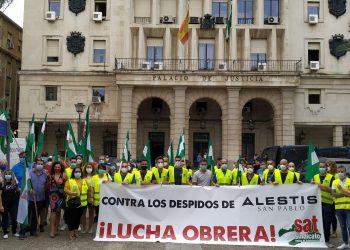Teresa Rodríguez pide a la ministra Montero que frene cualquier intento de recurso judicial de Alestis contra la sentencia del TSJA