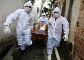 55.891 nuevos contagios y 1.156 fallecidos por Covid-19 en Brasil en 24 horas