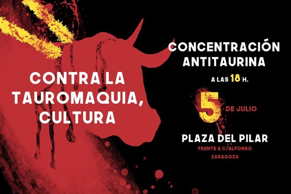 Más de 50 asociaciones y colectivos piden al Gobierno de Aragón que retire las subvenciones a la tauromaquia