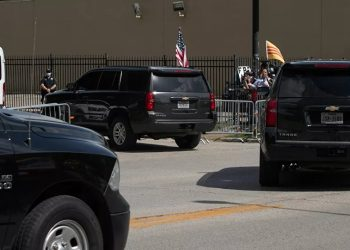 La legación diplomática china abandona el consulado en Houston