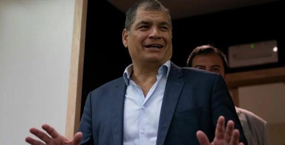 «Revolución Ciudadana», el partido de ex presidente Correa, logra alianza para próximas elecciones en Ecuador