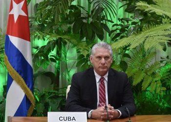 """Díaz-Canel en Cumbre de la OIT: """"El momento es dramáticamente serio y exige acciones coordinadas"""""""
