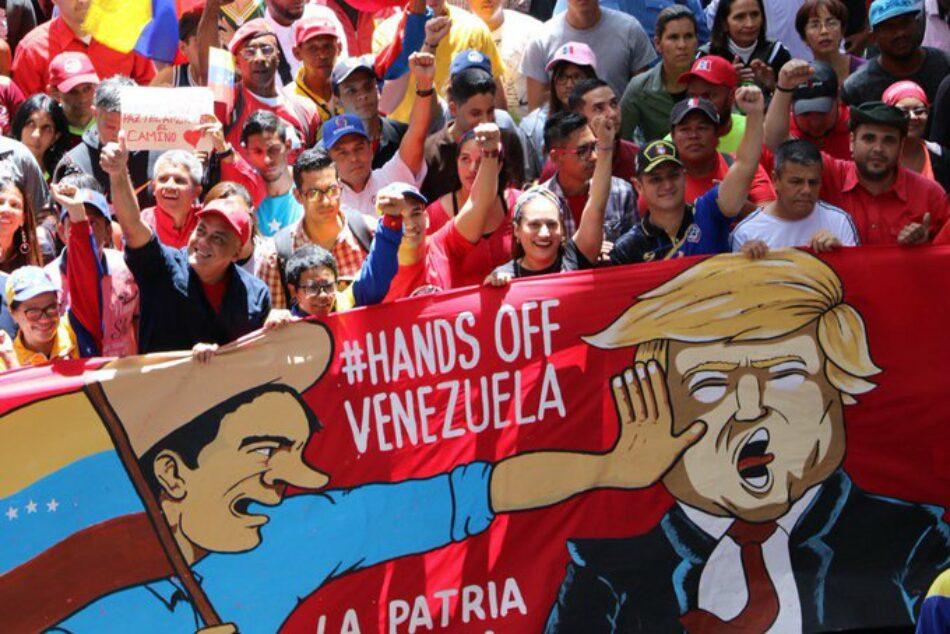 No a las sanciones de la UE contra altos cargos venezolanos dictadas por Trump