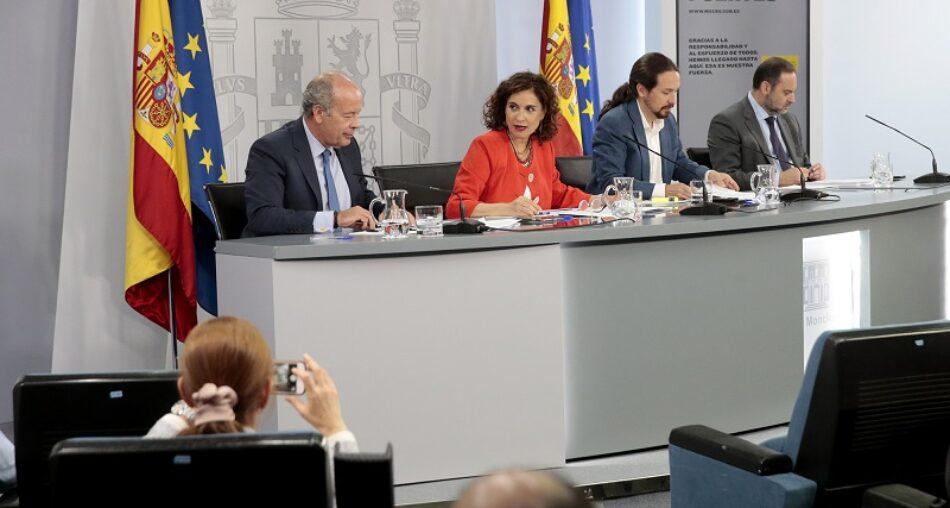 El Gobierno aprueba el plan de choque para hacer frente a la litigiosidad postcovid-19 y una reforma radical de transformación social en materia de discapacidad