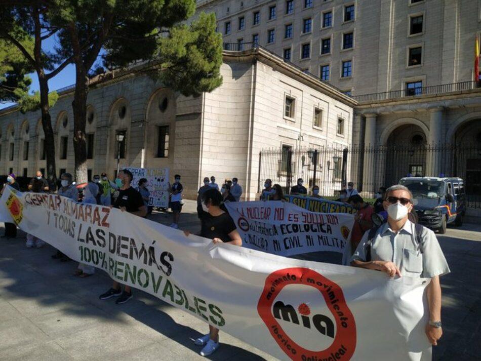 El movimiento antinuclear pide que no se renueven las autorizaciones a Almaraz y Vandellós