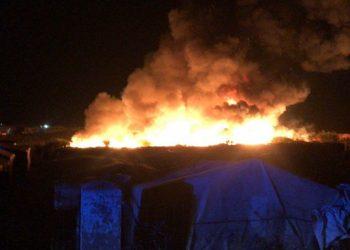 """Valero pide """"humanidad"""" al Gobierno andaluz y le reclama una actuación """"inmediata"""" en los asentamientos de temporeros en Huelva tras un nuevo incendio"""
