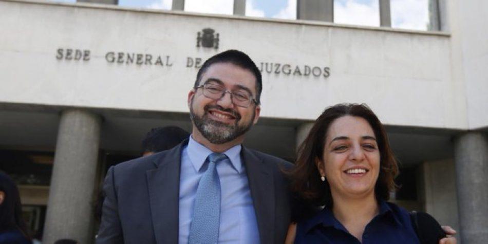 «En solidaridad con el compañero Carlos Sánchez Mato y contra la criminalización de la investigación y la denuncia de la corrupción»
