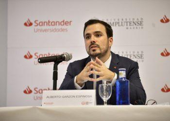 Alberto Garzón, sobre las pretensiones de los países «frugales»: «no está en nuestra hoja de ruta recortar pensiones»