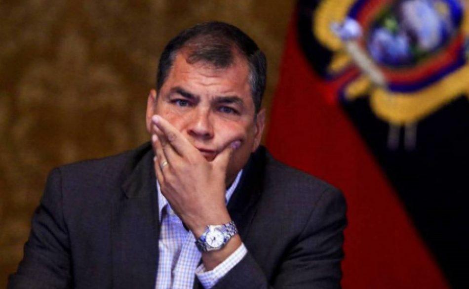 """IU considera que """"la inhabilitación electoral del partido de Correa impuesta por el Gobierno de Moreno convierte a Ecuador en una dictadura con fachada democrática"""""""