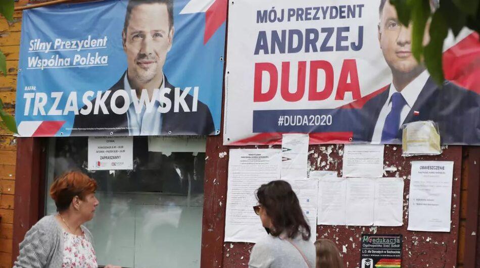 Polonia decide entre Andrzej Duda y Rafal Trzaskowski en la segunda vuelta de las elecciones