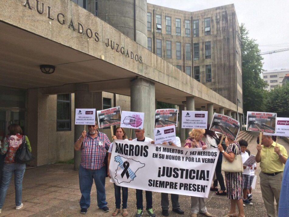 La Plataforma Víctimas Alvia 04155 sigue luchando para se haga justicia: citadas en el juzgado cuatro personas que trabajaban en Talgo en el momento del siniestro