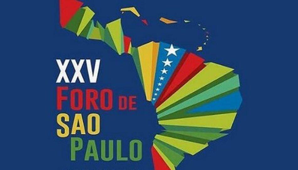 A 30 años del Foro de Sao Paulo: Una alternativa de unidad en Nuestra América