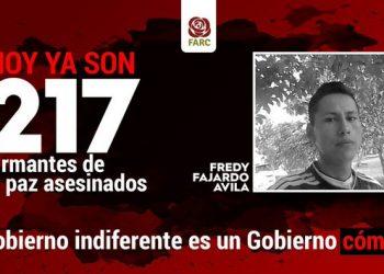 El partido FARC denuncia un nuevo asesinato de un ex combatiente en el Meta
