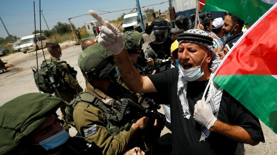 ¡No a la nueva anexión de territorio palestino de parte de Israel!