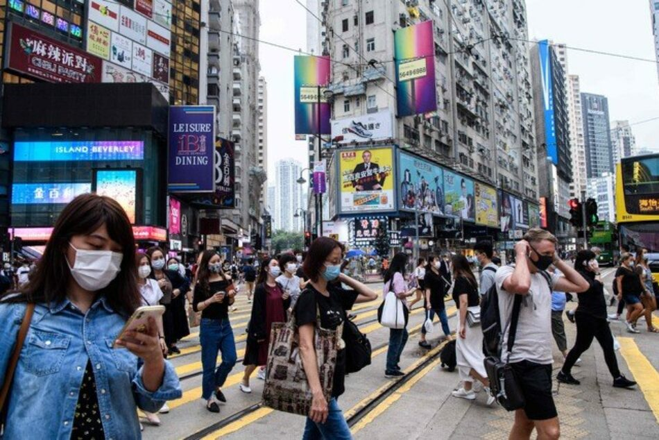 Hong Kong registra el mayor pico de nuevos casos de covid-19 desde que comenzó la pandemia