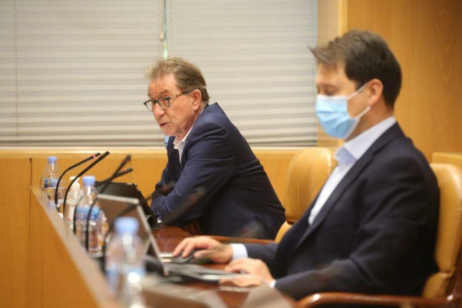 """Jaime Cedrún reclama el """"papel central"""" del sector público en la reconstrucción de la Comunidad de Madrid"""
