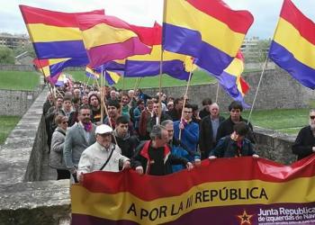 El PCE-EKP Navarra rechaza la visita de Felipe VI y Letizia a Pamplona