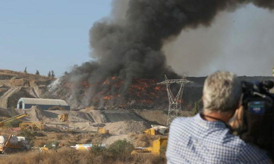 112 plantas de gestión de residuos ardieron entre 2017 y 2019, casi un 50 % más que los incendios reportados entre 2012 y 2017, según el Gobierno
