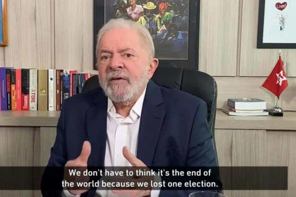 Lula acusa a EE.UU. de participar de golpes en América Latina