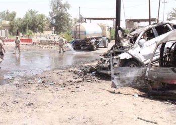 Nuevo ataque con bomba contra un convoy que llevaba apoyo logístico a las tropas estadounidenses en Irak