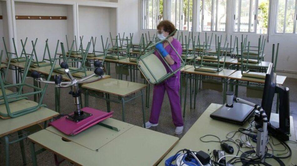 «La comunidad educativa, abandonada ante el COVID-19»