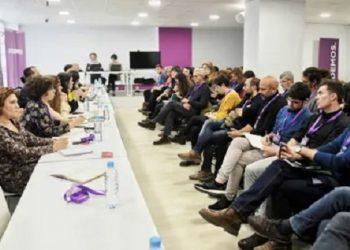 Las direcciones autonómica y municipal de Podemos trabajarán para impulsar un cambio en la capital