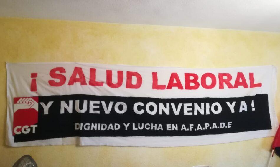 Convocan huelga indefinida en AFAPADE para exigir salud laboral y el nuevo convenio
