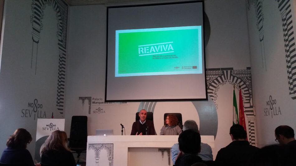"""La Asociación Cultural Alternativa Tartessos alerta del """"olvido total"""" de la plaza Pedro Vallina y del programa Reaviva por el Ayuntamiento de Sevilla"""