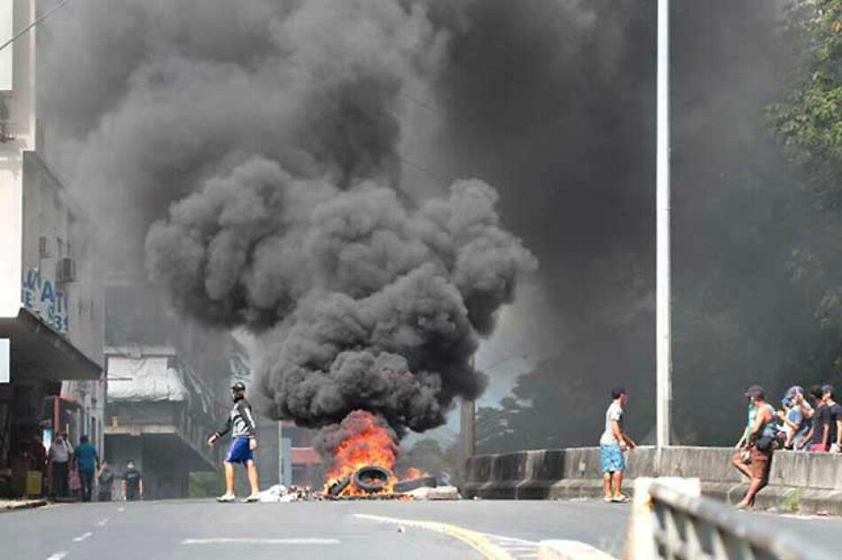 Ola de protestas en Panamá desafía cuarentena por Covid-19