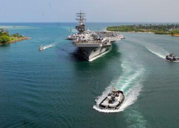EEUU envía dos portaviones al mar de la China Meridional