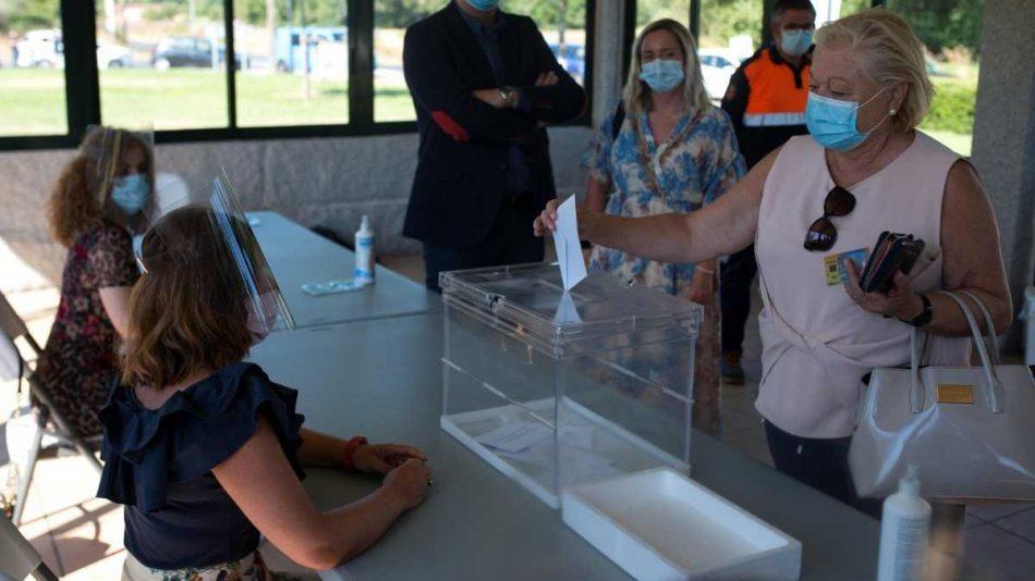 Cae la participación en Euskadi y sube en Galicia en las elecciones autonómicas