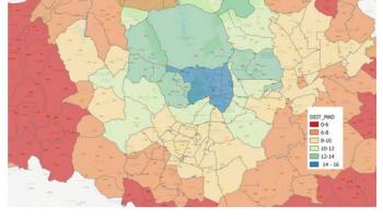 """El 61% de la ciudad de Madrid y toda su corona metropolitana es ya una inmensa área """"tensionada"""" por el alquiler"""