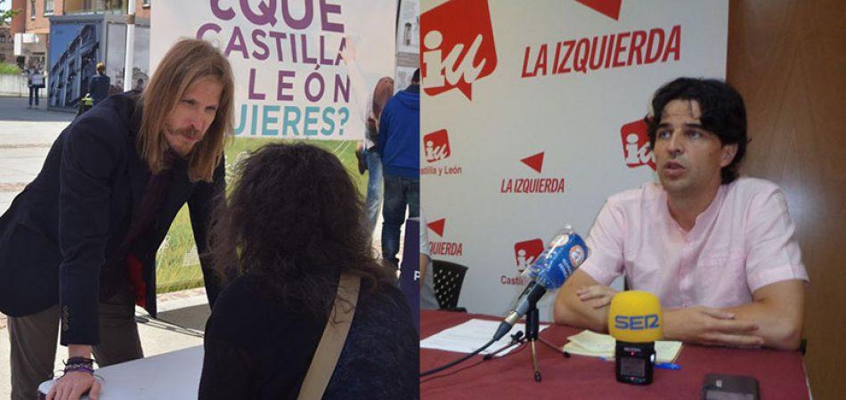 Acuerdo entre Podemos e Izquierda Unida para construir el espacio político de Unidas Podemos en Castilla y León