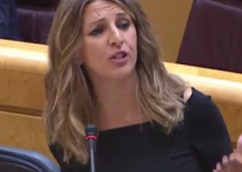 Yolanda Díaz: «La política industrial de la Xunta de Feijóo ha dejado 20.000 empleos menos en Galicia»