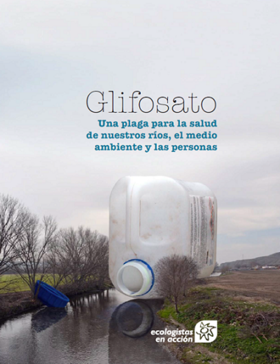 Las aguas superficiales de los ríos están altamente contaminados por glifosato
