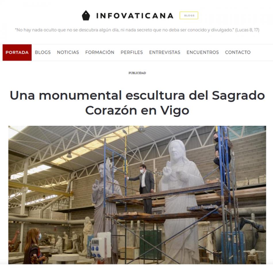 La Asemblea Republicana de Vigo, alarmada ante la inminente instalación de una estatua gigante del Corazón de Jesús en la cumbre de la ermita de la Virgen de A Guía