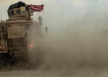 Convoy militar estadounidense atacado con un dispositivo explosivo en Deir Ezzor